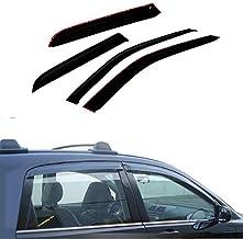 JYJ 4pcs Compatible with 02-09 Trailblazer/Envoy Sun Rain Guard Vent Shade Window Visors 94733