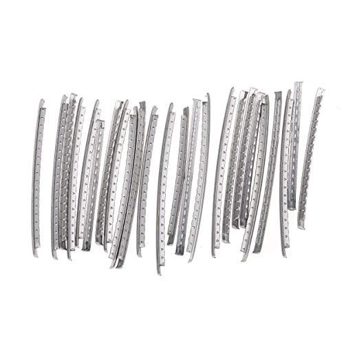 Musiclily Pro 2,6mm Acero Inoxidable Medium Gauge 24 Trastes Fret Wire para...