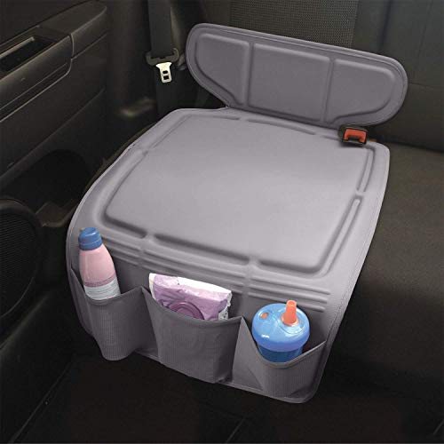 Travel Bug Heavy Duty Infant & Toddler Car Seat Protector for Rear and Forward Facing Baby Car Seats - Grey