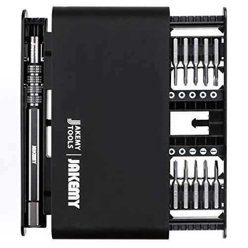 Hootracker Precisie Schroevendraaier Set 21 in 1 met 20 Bits Elektronica Reparatie Mini Tool Kit Kleine Magnetische Torx Schroevendraaier Set Bevestiging De meeste Elektronica