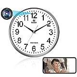 Tuya Smart Digitaluhr, kabellose WLAN-IP-Kamera, 1080P...