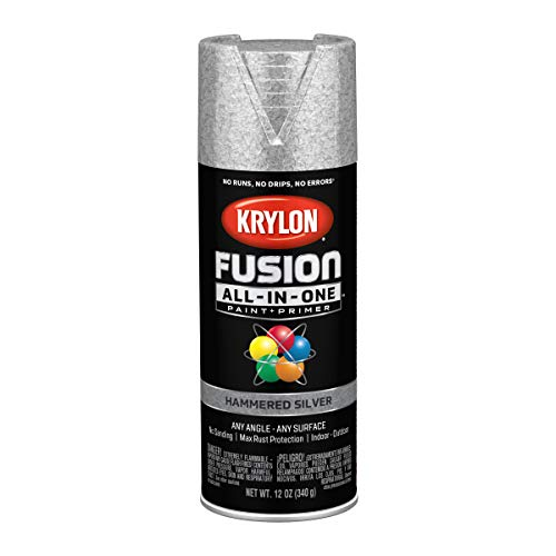 Krylon K02788007 Fusion All-in-One Spray Paint, Silver
