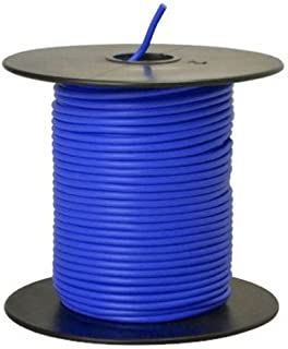 Southwire 55667623 Primary Wire, 18-Gauge Bulk Spool, 100-Feet, Blue