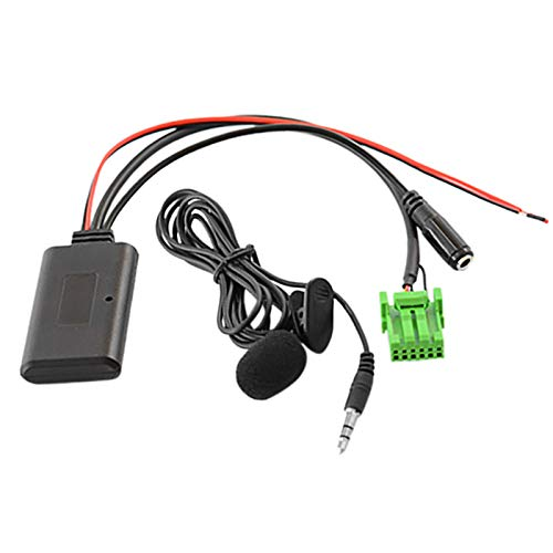 WOVELOT Coche 5,0 Cable Auxiliar MicróFono Manos Libres TeléFono MóVil Adaptador de Llamada Libre para RDX Tsx MDX CSX