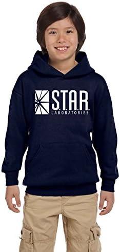 Labs Mens Ladies Kids Unisex Hoody STAR Laboratories Hoody The Flash S.T.A.R