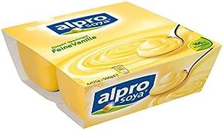 Alpro Soya Creamy Vanilla Dessert 4 X 125G