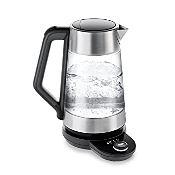 OXO Brew Adjustable Temperature Kettle Electric Clear
