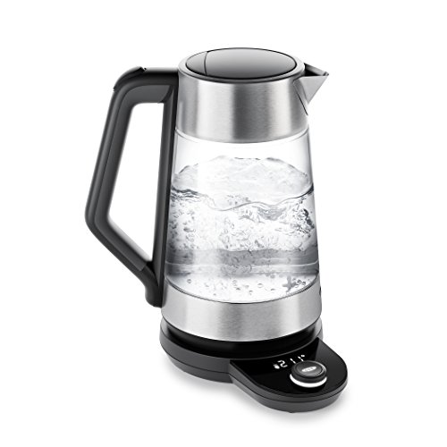 OXO Brew Adjustable Temperature Kettle, Electric, Clear