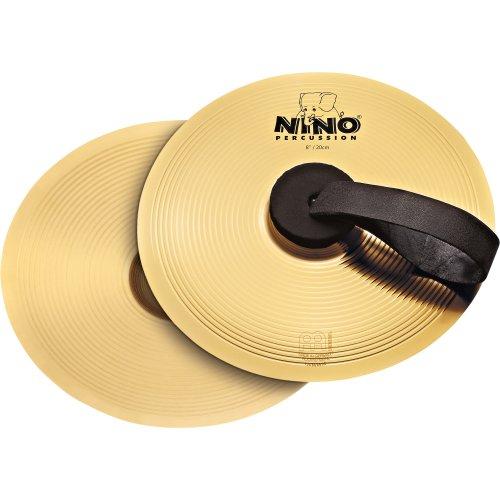 Nino Percussion NINO-BR20 Becken Paar 20,3 cm (8 Zoll) Messing Legierung