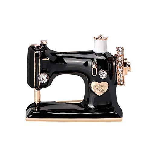 Ogquaton Haute qualité Machine à Coudre Broche Broche Antique élégante Broche Bijoux Design Attraction littéraire