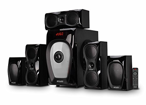 Mitashi HT 6125 BT 5.1 Channel Home Theatre System with Bluetooth (Black)