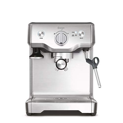 Sage Appliances SES810 the Duo Temp Pro, Cafetera espresso, Cappuccinatore, 15 Bar, Acero Inoxidable cepillado sin manchas