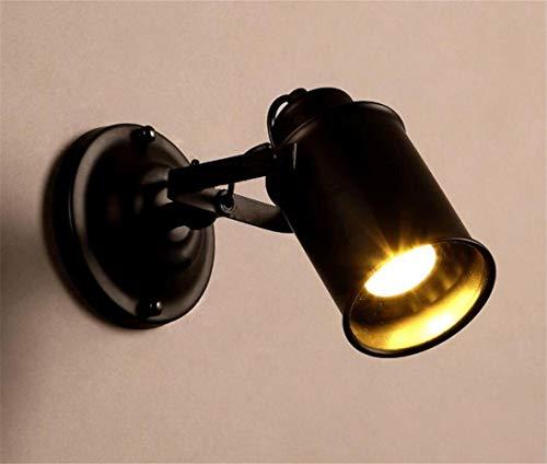 YLCJ wandlamp ijzer kunst industriële stijl loft creatieve retro koffie winkel decoratieve gang ladder E27 12 * 20 cm Hiso