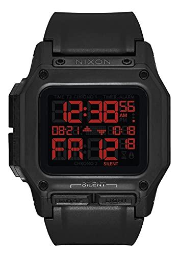 Nixon Herren Digital LCD-Digitalmodul Uhr mit Kunststoff Armband A1180760-00
