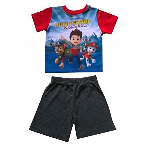 Pat patrouille - Pyjama court Pat Patrouille rouge et gris - 6 ans
