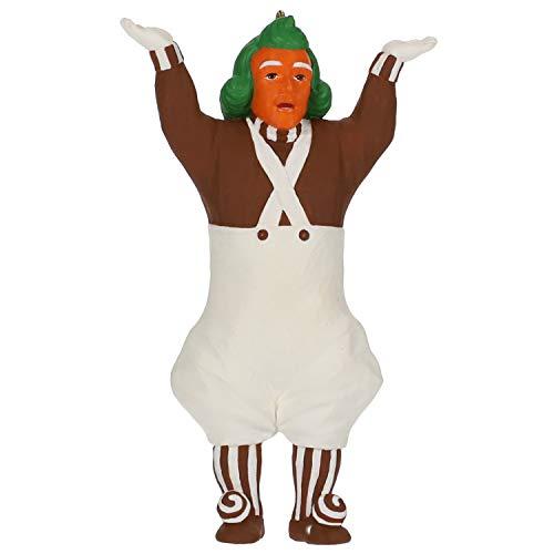 Hallmark Keepsake Christmas Ornament 2019 Year Dated Willy Wonka and The Chocolate Factory Oompa-Loompa