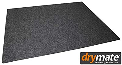 Drymate Gun Cleaning Pad (16 Inches x 20 Inches), Premium Gun Cleaning Mat - Absorbent/Waterproof - Protects Surfaces, Contains Liquids - America's #1 Selling Gun Pad - Made in The USA (Charcoal)