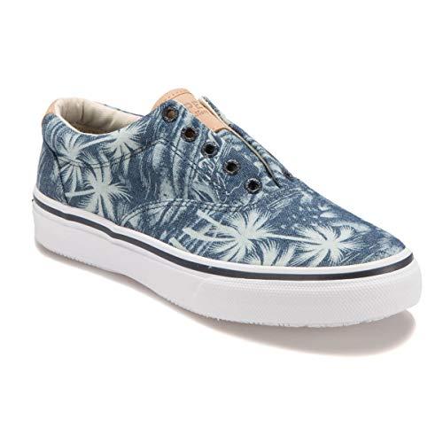 Sperry Top-Sider Striper Ll Cvo Chaussures de sport pour homme - Bleu - Navy Palm, 40.5 EU EU