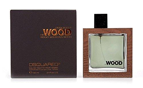 He Wood Rocky Mountain Wood Eau De Toilette Spray - 100ml/3.4oz