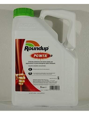 Roundup power 2.0 confezione da 5 litri - patentino necessario