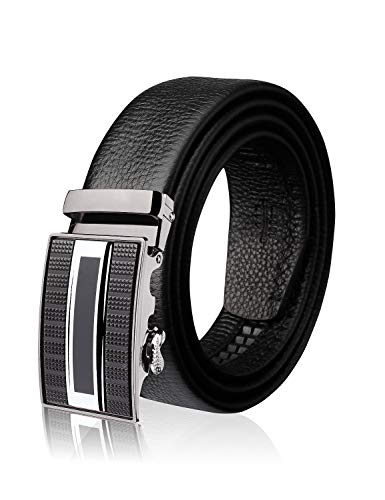Demon&Hunter ABL Series Luxury Men's Belt DH9182(Black/110CM)