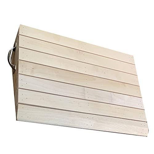 Rampas Rampas de Entrada de Madera para Sillas de Ruedas Hogar Puerta de Patio con Asa, Rampas de Umbral de Andador Portátil para Escaleras Escalones de Jardín (Size : 40×70×5cm)