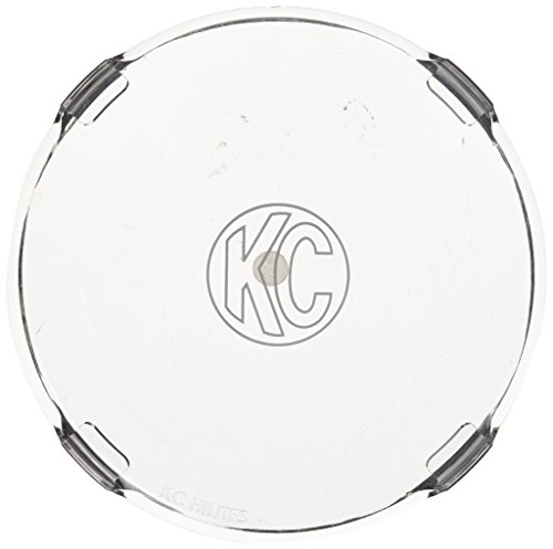 "KC HiLiTES 7207 6"" Clear Acrylic Light Cover - Set of 2"