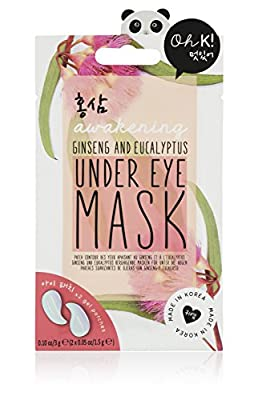 Oh K! Korean Beauty Ginseng & Eucalyptus Under Eye Mask