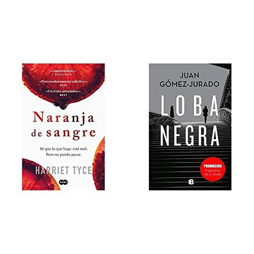 Naranja de sangre (FUERA DE COLECCION SUMA.)+Promoción fragmento de la novela Loba Negra (No venal)
