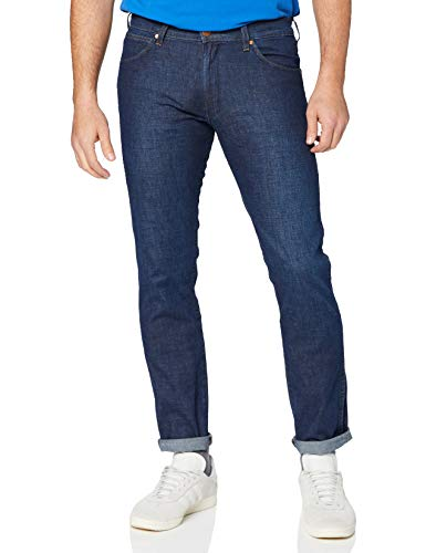Wrangler Herren Larston Jeans, Rinse&Shine, 38W / 34L