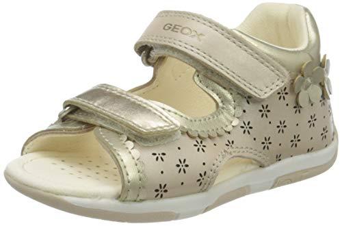 Geox Baby Mädchen B TAPUZ Girl A Sandalen, Beige (Beige C5000), 25 EU