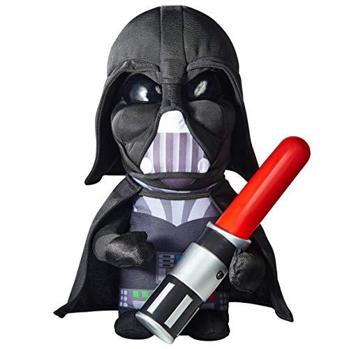 Darth Vader Figur 30 cm mit leuchtendem Schwert Plüschfigur Stofftier Plüsch