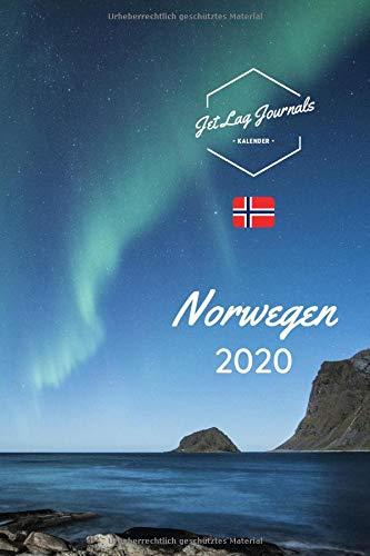 Norwegen Kalender 2020: Kalender für 12 Monate • Norwegen Geschenk • Taschenkalender 2020 • Norwegen Bildkalender • Wochenkalender für 365 Tage