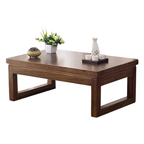 ADSE Tables Basses Table d'appoint en Bois de Paulownia Table Basse Zen Simple Table d'ordinateur paresseuse Table de fenêtre de Plate-Forme Tatami
