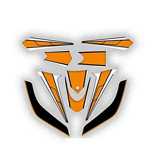 Protector DE Tanque Moto Para YAM-AH-A TMAX 530 2012-2014 Tmax530 Pegatina Para El Cuerpo De La Motocicleta Carenado Delantero Y Trasero Calcomanía Impermeable Calcomanías Para Moto Kit De Pegatinas C