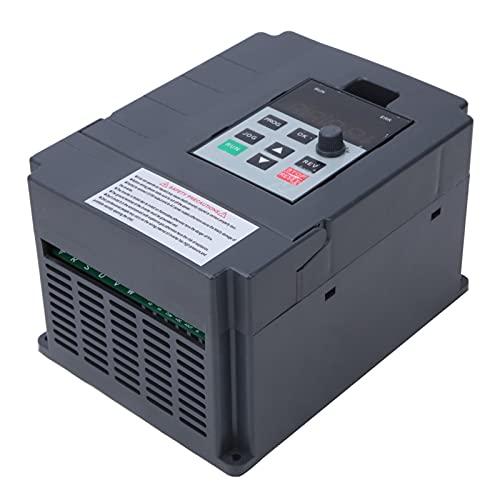 Controlador de frecuencia, regulación continua de velocidad, entrada monofásica de 220 V, variador de frecuencia para control de velocidad del ventilador(0,75 kW, rosado)