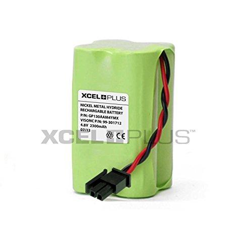 Batería de alarma Visonic Powermax Express & PowerMaster 10 99-301712 GP130AAM4YMX, 7.20 voltsV