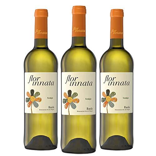 Flor Innata D.O Rueda Vino Blanco Caja WEB de 3 Botellas 75 cl
