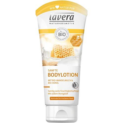 lavera Sanfte Bodylotion mit Mandelmilch & Honig (200 ml)