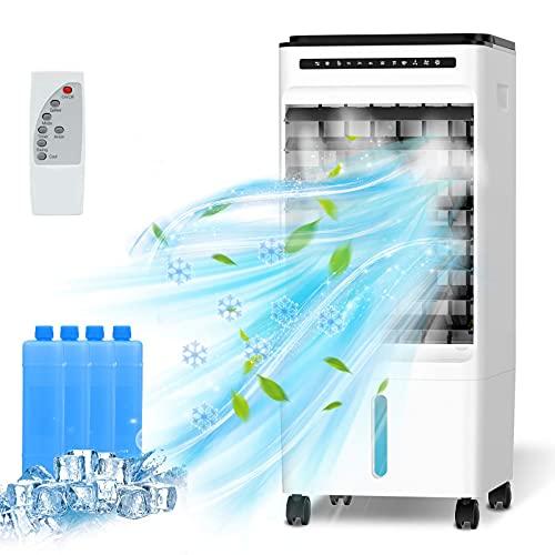 Refroidisseur d'air Mobile, 4 en 1 Climatiseur Portable...
