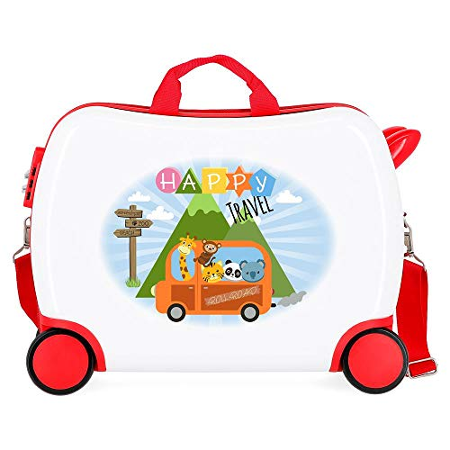 Roll Road Little Me Maleta Infantil Multicolor 50x38x20 cms Rígida ABS Cierre...