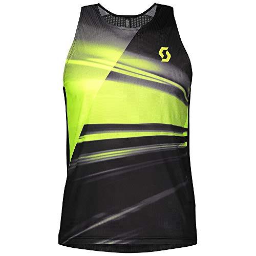 Scott Débardeur M's RC Run Noir/jaune, xl