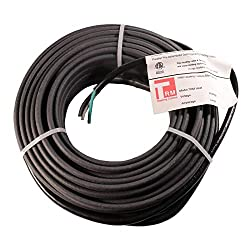 Thermal Resources Management Self-Regulating De-Icing Roof Heating Cable - for Heat Tracing and Ice Dam Prevention - Direct Plug-in System - 240 Volts (100 Feet + 6 Feet Cold Lead)