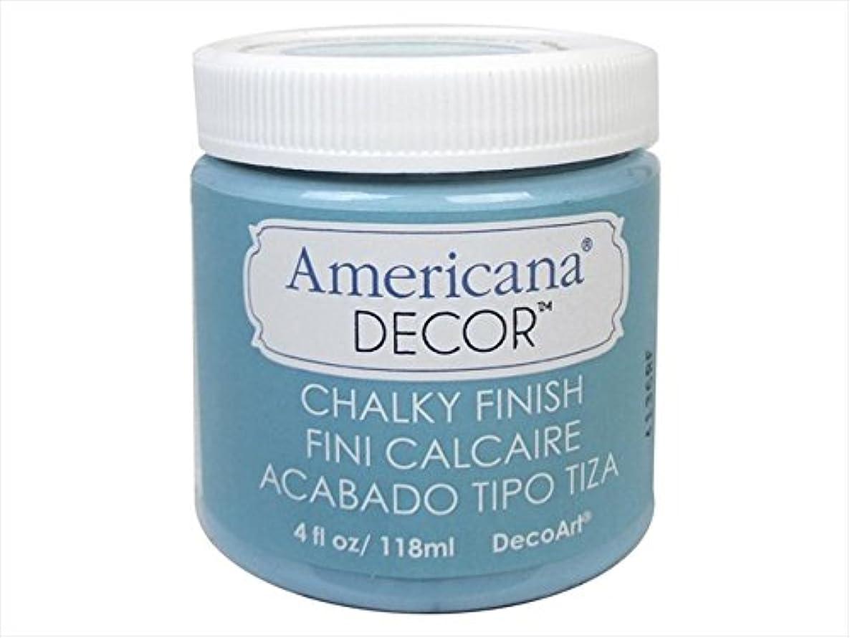 Americana ADC20-96 Chalky Finish Paint Escape 4 oz Jar Blue