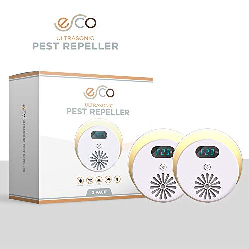 Esco Upgraded Ultrasonic Pest Repeller