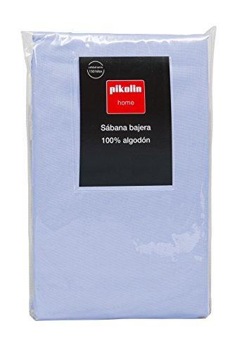 Pikolin Home - Sábana bajera ajustable 100% algodón transpirable y de gran durabilidad y resistencia