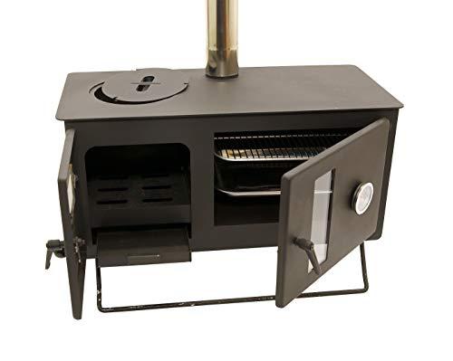 Outbacker Firebox Range Oven Tent Stove (Black)