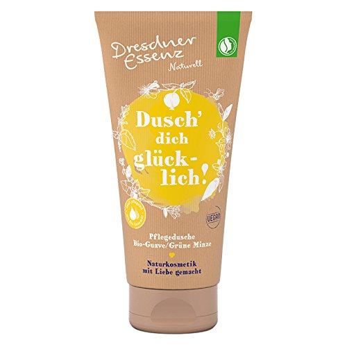 Dresdner Essenz Pflegedusche Naturell Dusch Dich glücklich! 200 ml, Duschcreme, Duschgel, Duschbad
