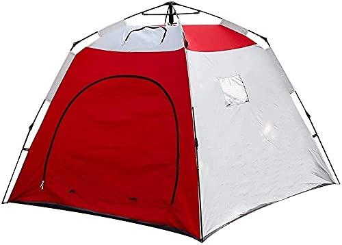 QQW Tenda Casa da Pesca per il Ghiaccio Caccia Desert Tende in Cotone Deserto Tende Mosaico Aperto per Ventilazione e Borsa da Trasporto Tende Invernali Calde per Escursioni All Aperto Campin Automat