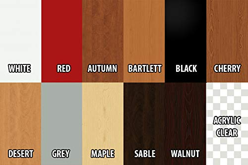 1//4, 1//2, 3//4 Walnut Closet Shelves Melamine Choose Your Accurate Size